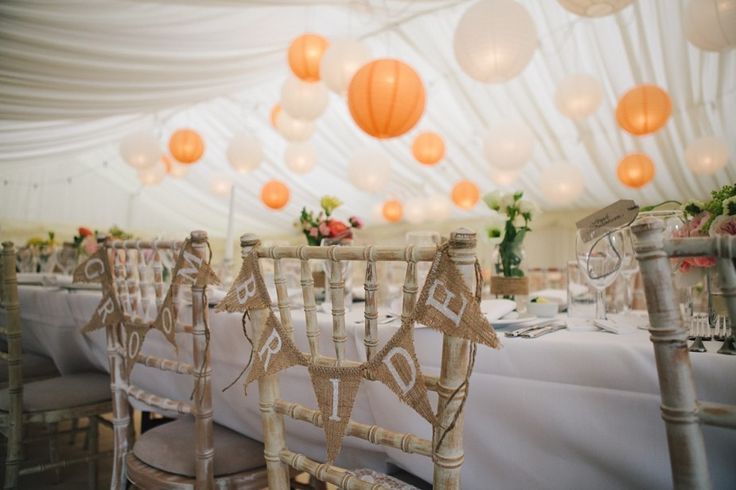Some really great summer marquee wedding ideas.
