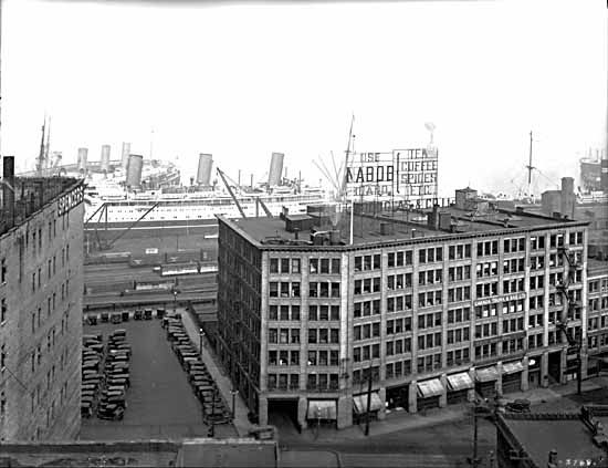 1942- Water at Cordova ( between Waterfront and Steamworks, today