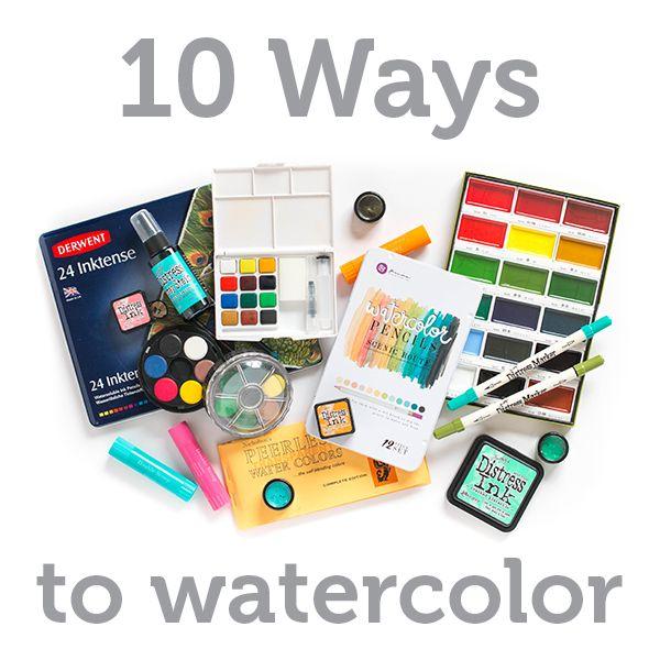 watercolor 10 ways 600 title