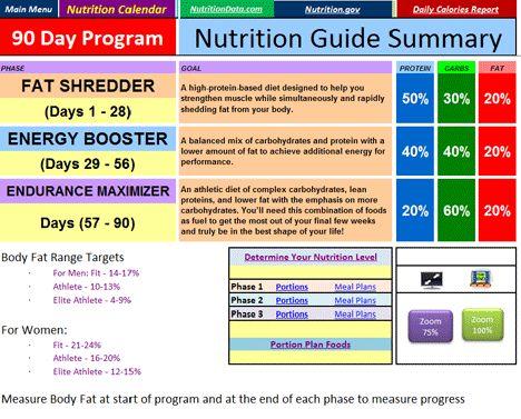 insanity workout plan pdf free