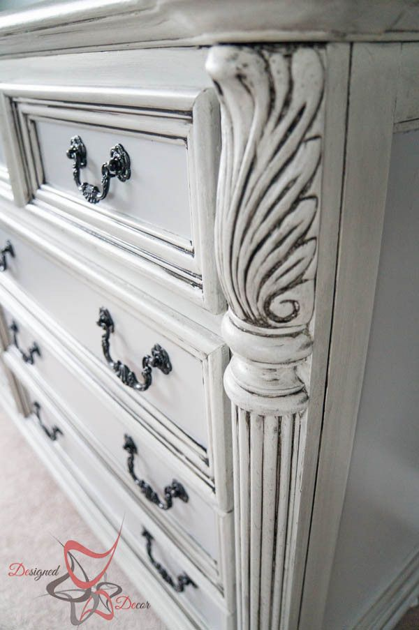 Guest Bedroom Furniture- French Decoupage- Glazing Furniture