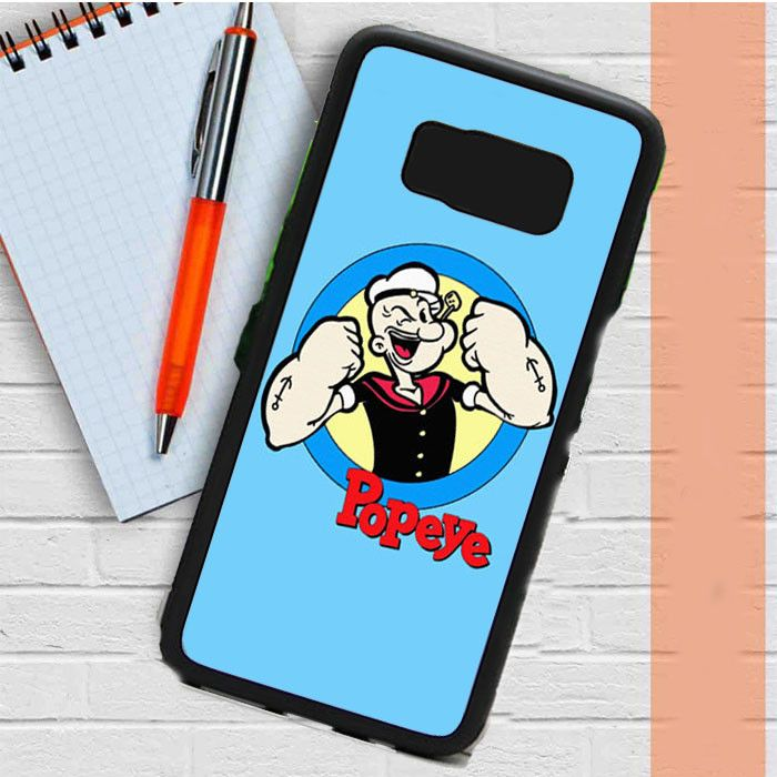 Popeye Cartoon Samsung Galaxy S8 Plus Case Casefreed