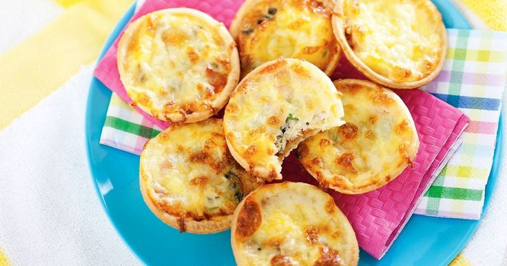 Classic Hawaiian pizza is transformed into tartlets that the kids will enjoy making and eating.