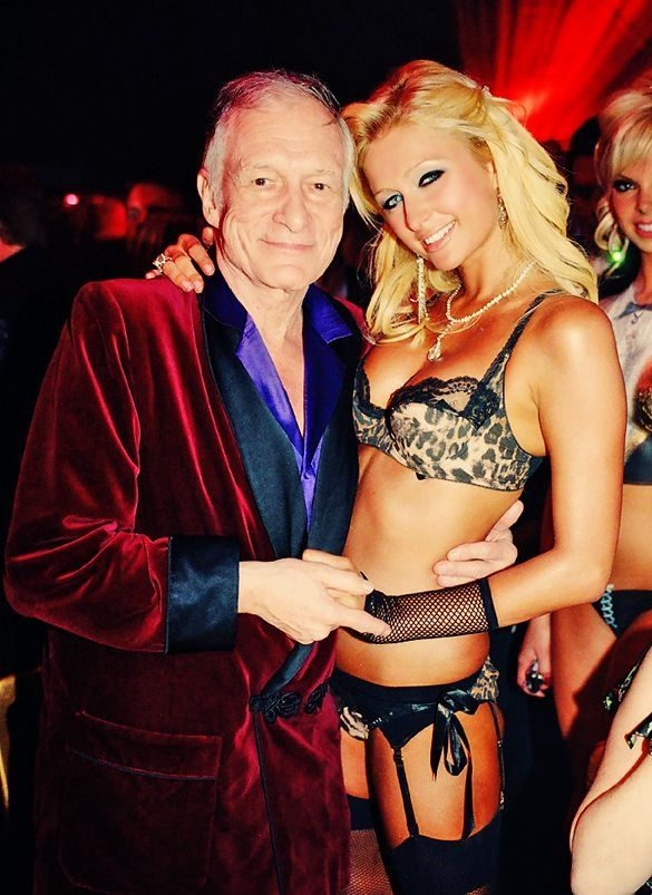 Parishilton Amp Hughhefner In 2019 Hugh Hefner Paris