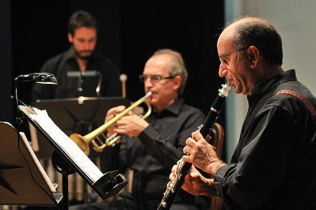 """Complesso da camera """"Rai Five"""" dell'Orchestra Sinfonica Nazionale della Rai al Teatro Sant'Anna. 17 settembre 2012"""