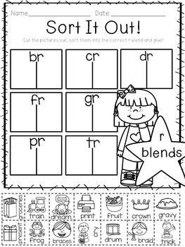 Let's Get Blending- R Blend Activities for Little Learners ...