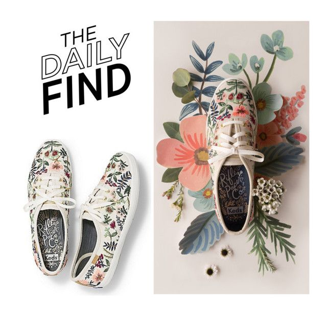 """Daily Find: Keds x Rifle Paper Co."" by polyvore-editorial ❤ liked on Polyvore featuring RIFLE and DailyFind"