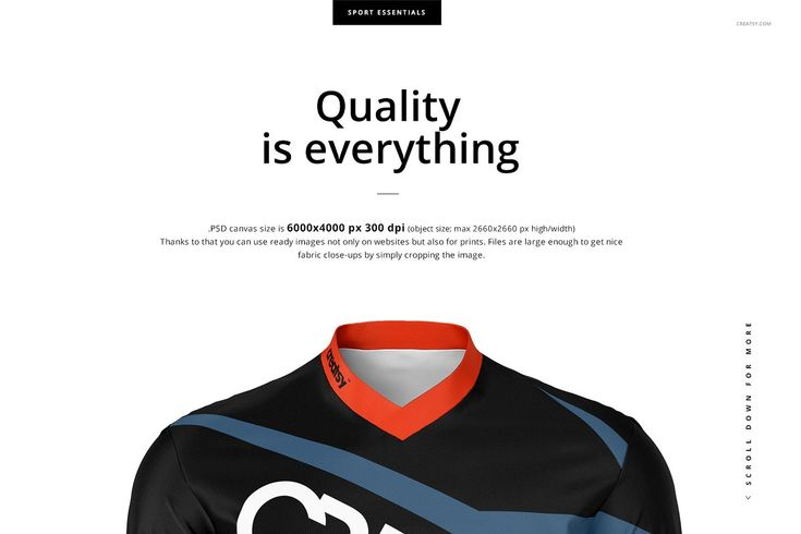 Download Motocross Jersey Mockup Set