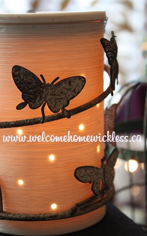 """""""Butterfly"""" Silhouette Scentsy warmer.  New for spring and summer!"""