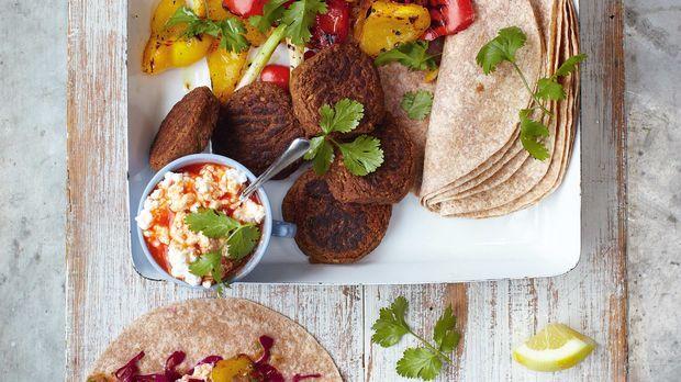 Falafel Wraps: Jamie Oliver