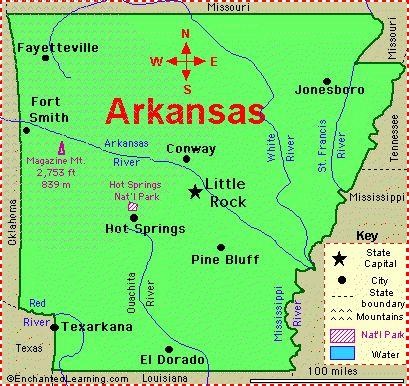 Best All About Arkansas Images On Pinterest Arkansas - Arkansas in usa map