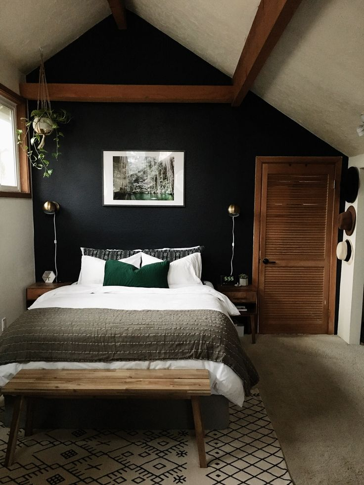dark bedroom wall idea 471 best Paint Colors & Color Palettes images on Pinterest   Bathrooms, Master bathrooms and Ad home