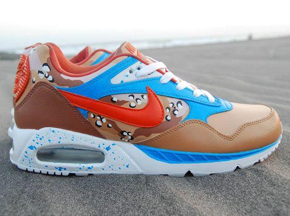 Nike Air Max Correlate Sea Sun Sand Customs by Sevenzulu