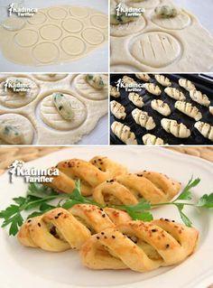 Patatesli Çizik Poğaça Tarifi Kadincatarifler.com - En Nefis Yemek Tarifleri Sitesi - Oktay Usta