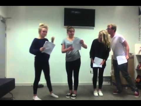 ▶ Ellie, Sophie, James, Sax Who Scene - YouTube