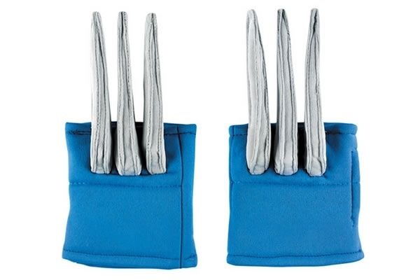 Baby's First Wolverine Claws: Introduce your child to cosplay the safe way with these soft fabric Wolverine claws.