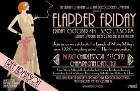 """Type of source: Poster. Flappers were a generation of young Western women in the 1920s who wore short skirts, bobbed their hair, listened to jazz, and flaunted their disappointment for what was then considered acceptable behavior. Flappers were seen as """"provacitave"""" for wearing excessive makeup, drinking, treating sex in a casual manner, smoking, driving automobiles, and otherwise flouting social and sexual norms."""