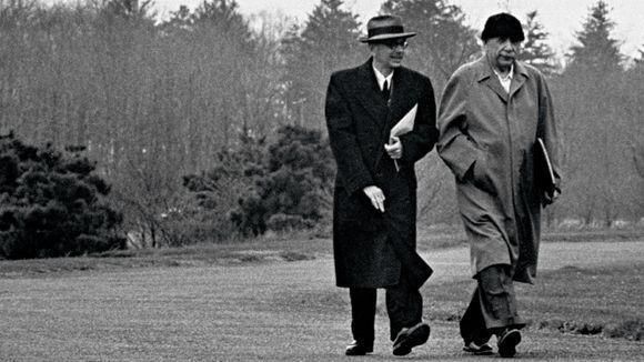 Kurt Gödel. Adele y Kurt, las pequeñas y las grandes victorias   Matemoción   Cuaderno de Cultura Científica