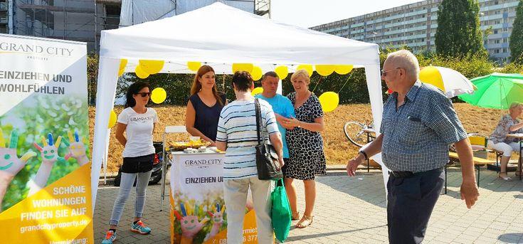 GCP beim Stadtteilfest in Halle | Grand City Property – GCP – Wohnungssuche Mietwohnung Wohnung mieten Immobilien