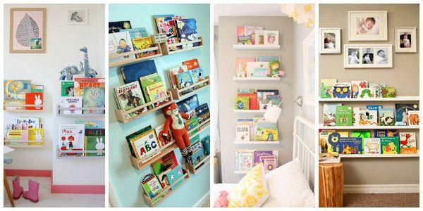 Creare un angolo lettura per bambini in cameretta o in - Mensole per camera bambini ...
