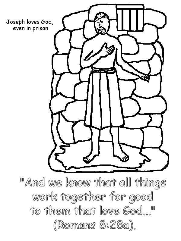 34 best coloring pages images on pinterest | bible stories, bible ... - Bible Story Coloring Pages Joseph