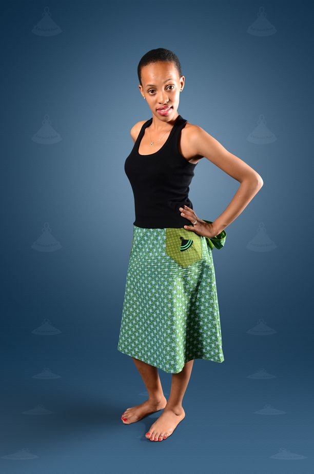 Seshoeshoe / seshweshwe skirt