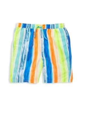 78e9cd93a1 Egg Baby - Baby's & Little Boy's Drake Striped Swim Trunks ...
