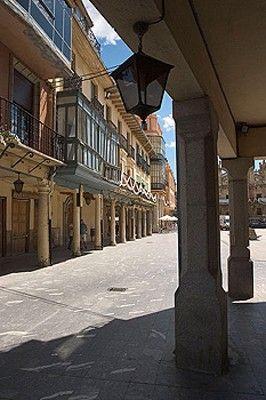 Plaza Mayor or Ayuntamiento, Astorga, León province. Castilla y León, Spain.