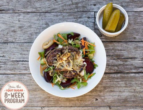 IQS 8-Week Program - Deconstructed Hamburger in a Bowl