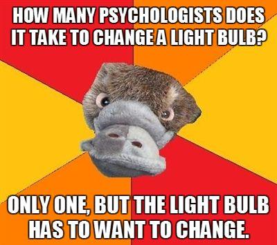 Psychology Student Platypus