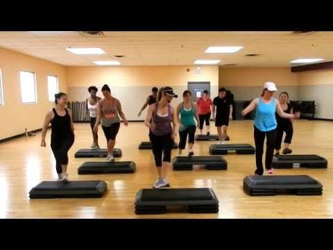 Step Cardio Choreography By Liana Santarossa-March 2014 - YouTube