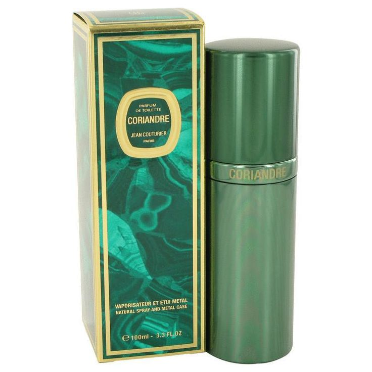 CORIANDRE by Jean Couturier Parfum De Toilette Spray (Metal