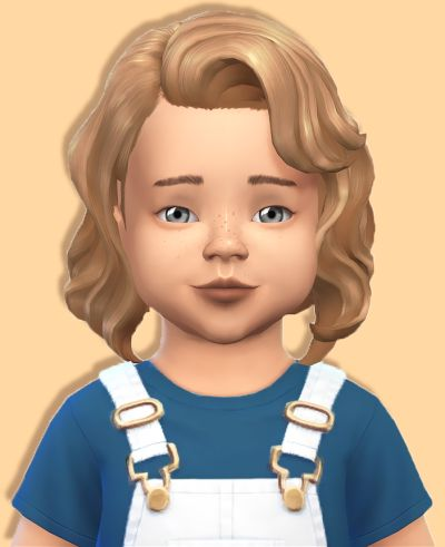 Sims 4 CC's - The Best: Vintage Baby Waves - Vintage Glamour Conversion by...