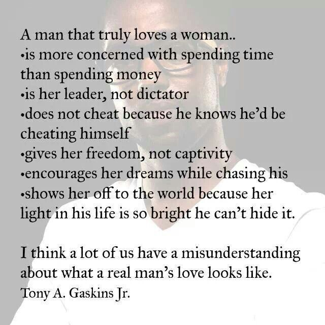 if a man truly loves you