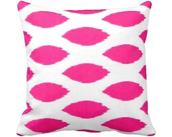 7 sizes available one 20x20 pillow cover pink pillow hot pink pillow decorative pillow throw