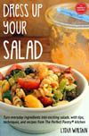 Couscous salad with chopped vegetables, basil, parsley and pomegranate vinaigrette {vegan} - The Perfect Pantry®