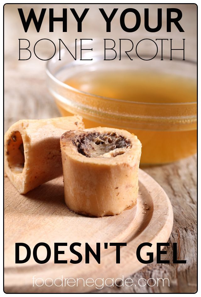 Why Your Bone Broth Doesn't Gel  -- You may be surprised!