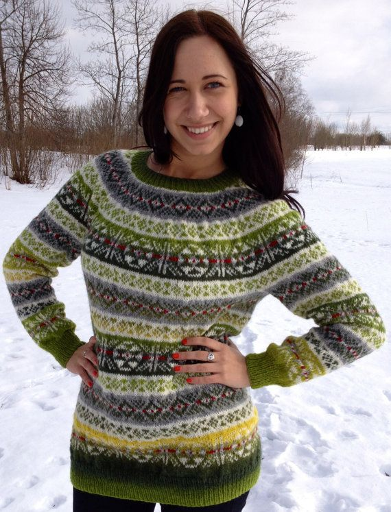 967 best Fair Isle and other traditional knittings images on ...