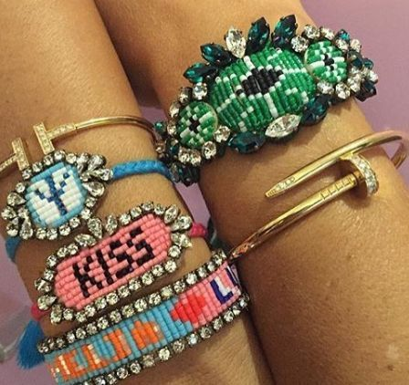 Check out the Parisian brand whose colourful, boho bracelets are a summer holiday must-have.