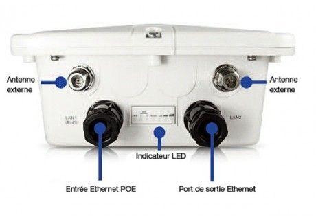 Borne wifi ext rieur wifi tanche ip67 engenius pinterest for Borne wifi exterieur