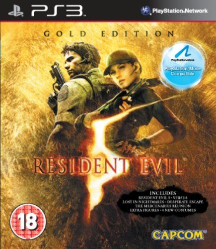 #PopularKidsToys Just Added In New Toys In Store!Read The Full Description & Reviews Here - Resident Evil 5: Gold Edition (PS3) - RESIDENT EVIL 5 GOLD (MC) BBFC Rating Suitable for 18 years and over. Resident Evil 5 features similar gameplay to Resident Evil 4, with context-sensitive controls and dynamic cutscenes also making a return. The game features some online elements. An offline co-op mode is also in the game with the same co-op experience offered by the online co-op m