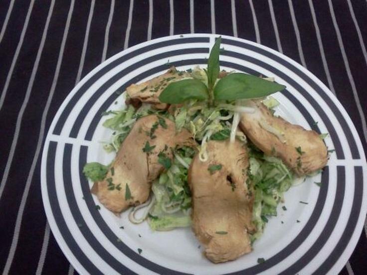 Thai Chicken & Rice Noodles Salad