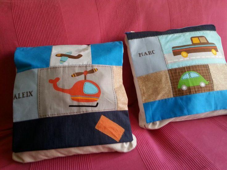 Fundas de cojin patchwork.  Personalizadas desde 20€.