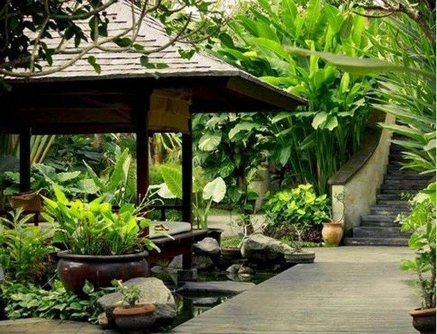 Balinese Landscape Architecture 41 In 2019 Design Tropical Homes