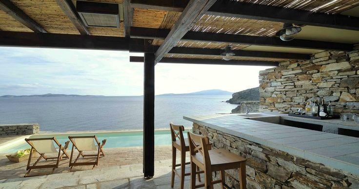 "Discover Villa ""Nacosta"", Paxos, Greece ! You can rent it ! #luxury #villa #rent #holidays #greece #vacances #grece #alouer #aroomwithaview #sea #bedroom #decoration #swimmingpool #beautiful #sunset #luxuryvilla"