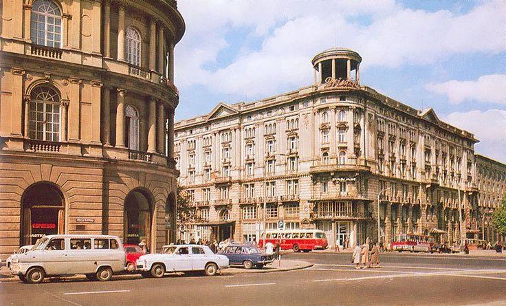 Hotel Bristol, lata 70. (fot. Krzysztof Jabłoński)