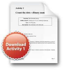 Computer science lesson plans and PDFs
