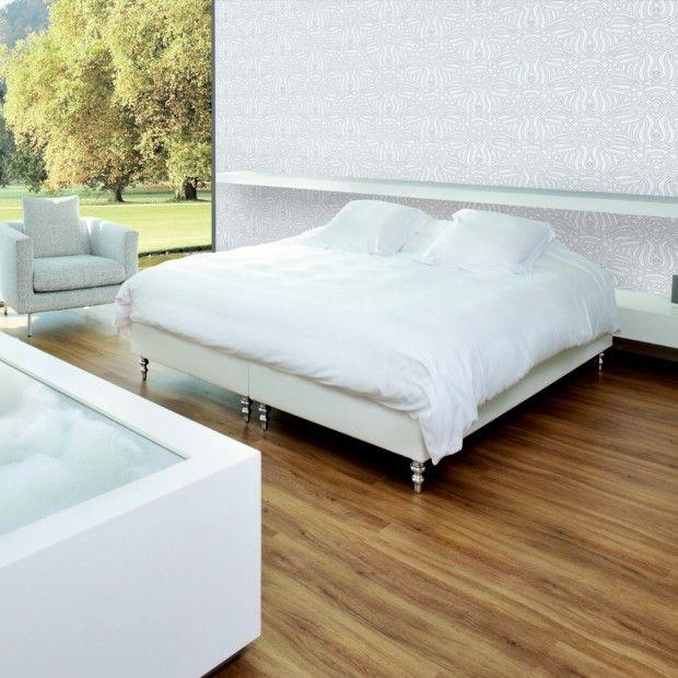 Pureloc Click Vinyl Flooring Honey Oak