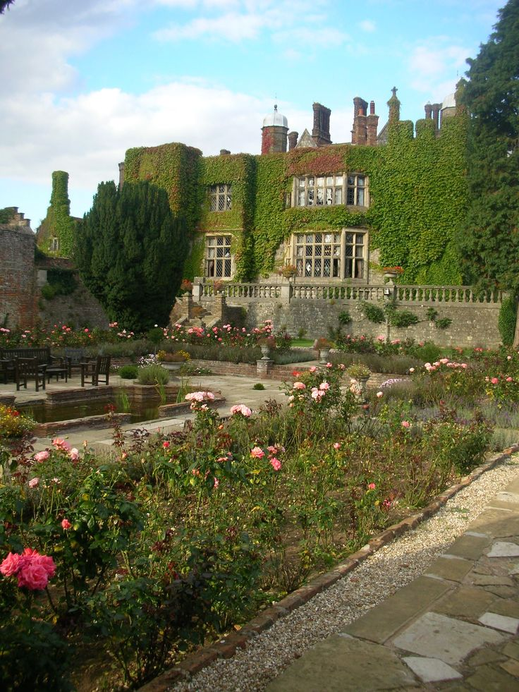 Eastwell Manor and gardens, Ashford, Kent, UK