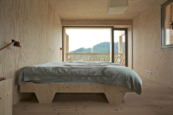 A little escape to Switzerland to this chalet by Andreas Fuhrimann Gabbrielle Hächler ...